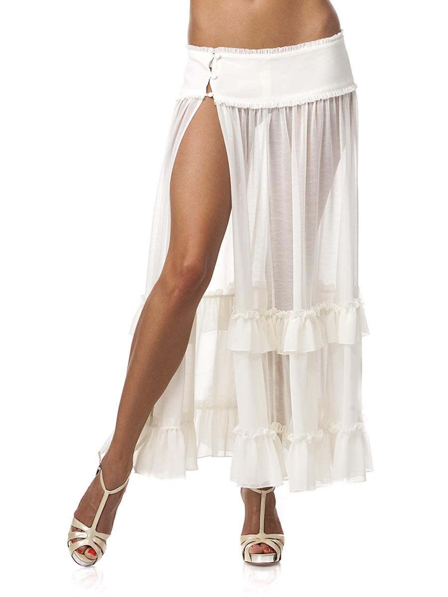 Сексуальные юбки с разрезами